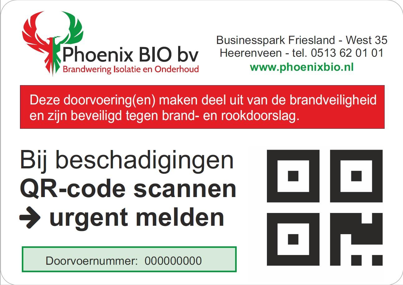 Phoenix BIO - QR Scan Codes